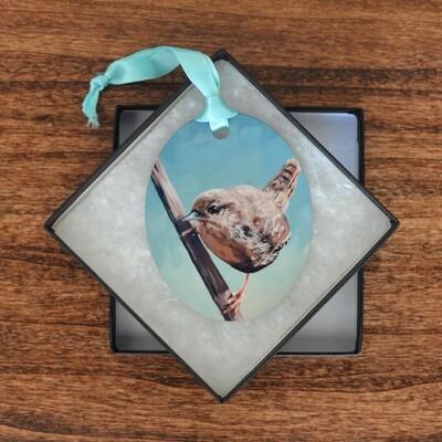 House Wren Ornament