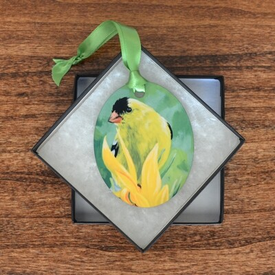 Goldfinch Ornament