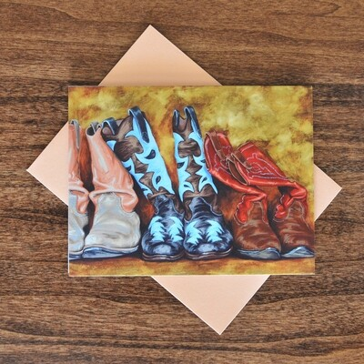 """""""Lean on Me"""" Note Cards - 4 pack"""