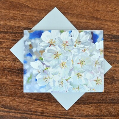 """""""Cherry Blossom"""" Note Cards - 4 pack"""