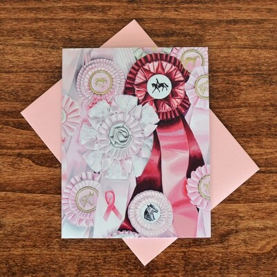 """Ribbons for the Fight"""" Note Cards - 4 pack"""