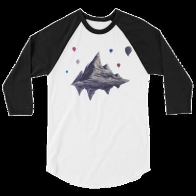 Free Float 3/4 sleeve raglan shirt From Nigel Roper