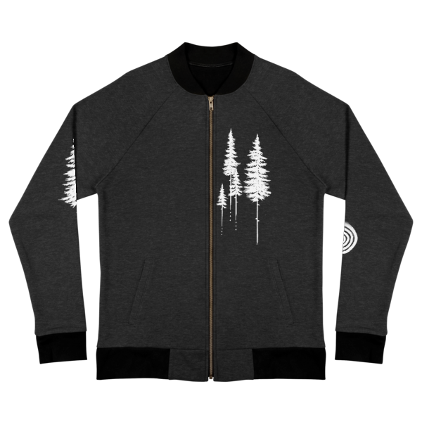 Treeline Bomber Jacket by Nigel Roper