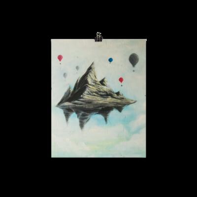 Float Poster, Artwork By Nigel Roper
