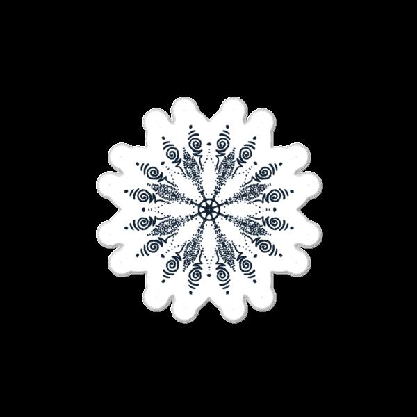 Bubble-free Mandala sticker