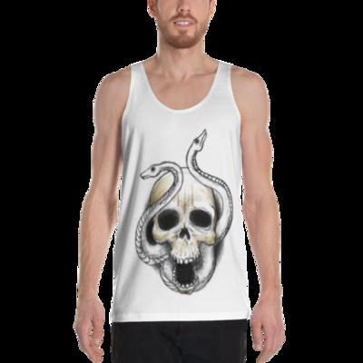 Snakeyes Skull Tank Top