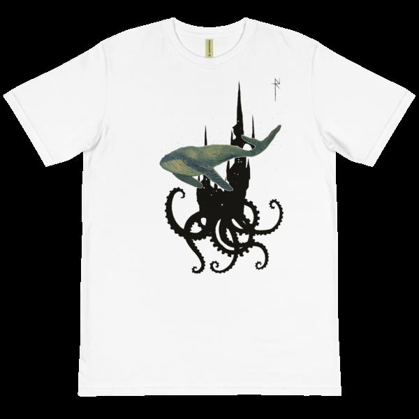 Galactic Whale Organic T-Shirt