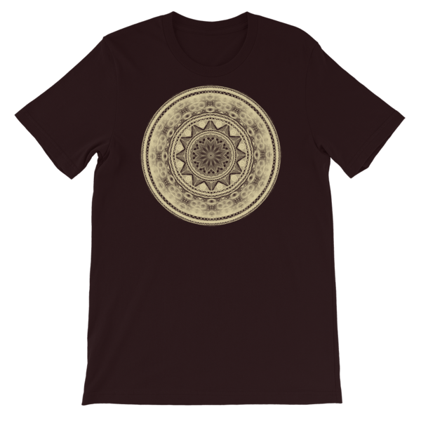 Short-Sleeve Unisex Mandala T-Shirt