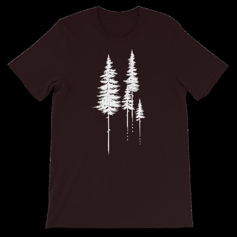 Forested Short-Sleeve Unisex T-Shirt