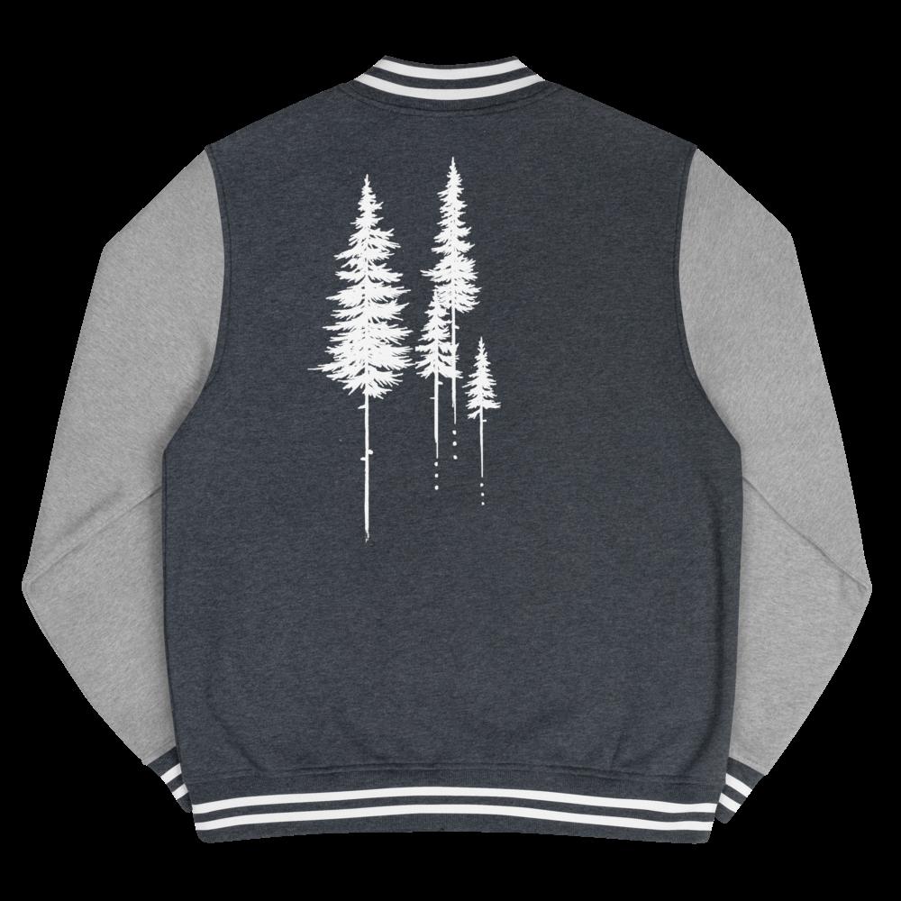 Forest Walker Letterman Jacket