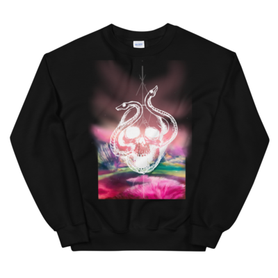 Skull snakes sweatshirt