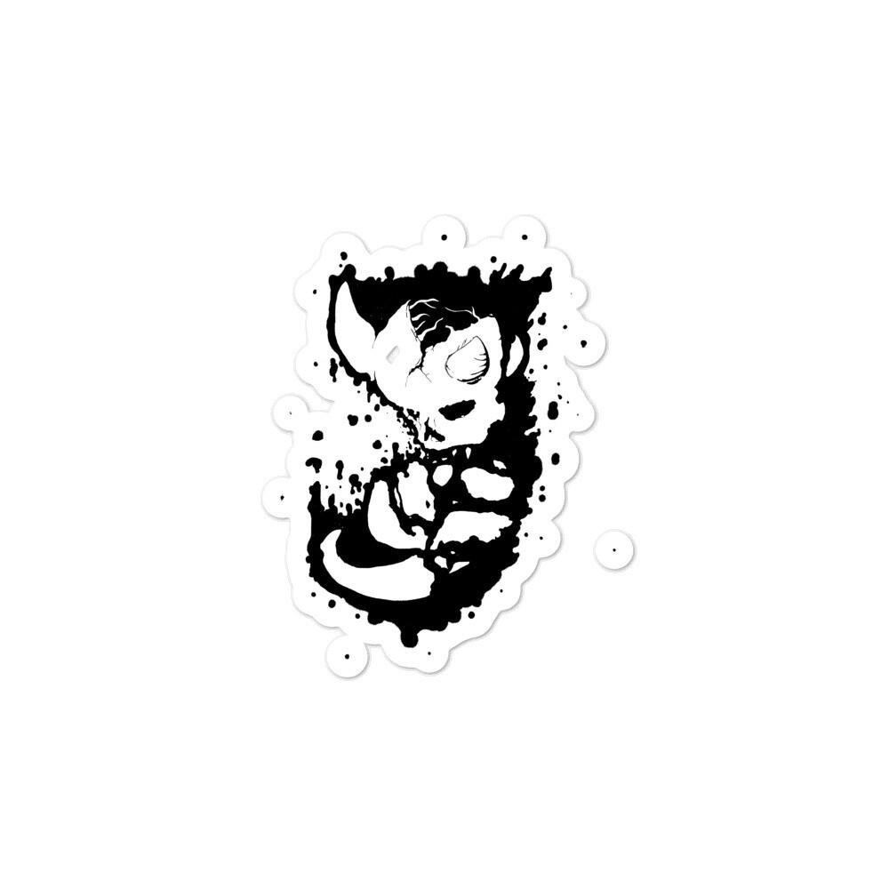 Demon Fetus Sticker