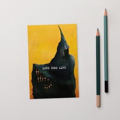 Time salesman Standard Postcard