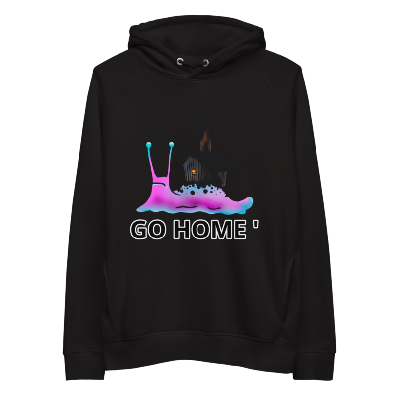 GO home pullover hoodie