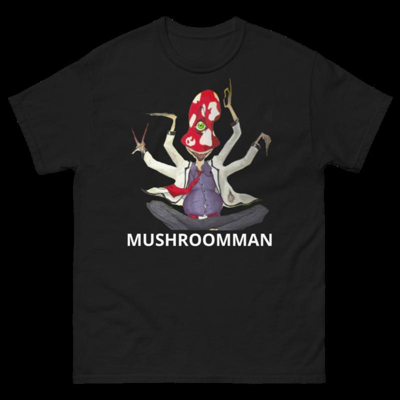 Mushroom Man heavyweight tee