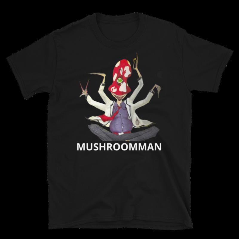 Mushroomman Short-Sleeve T-Shirt