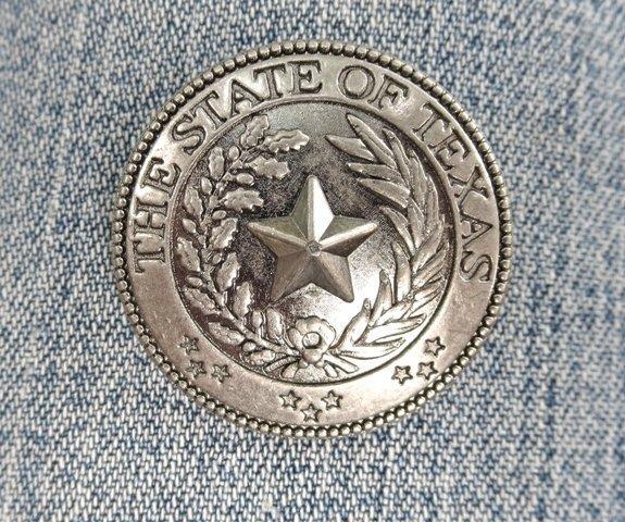 """Concho ~ Texas Seal 1 1/4"""" ~ RTX3015"""