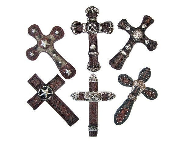 Western Cross Magnets ~ Set of 6