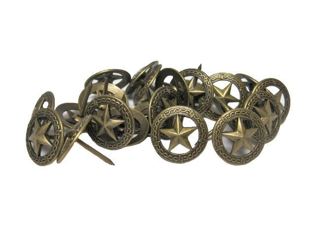 Star Circled with Barbed Wire Tack R907-ABRS