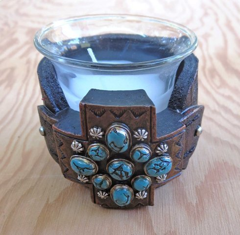 Cross Candle Holder ~ RB96356
