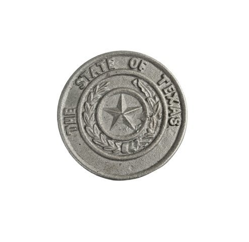 Texas State Seal Plaque SM T413
