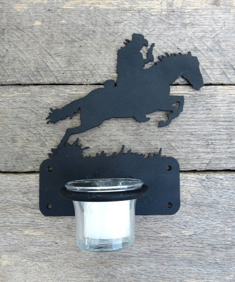 Bronco Candle Holder ~ T7105