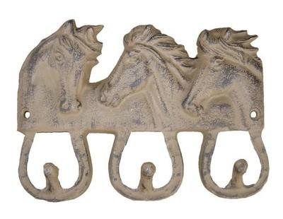 Horse Head 3 Hook ~ T698
