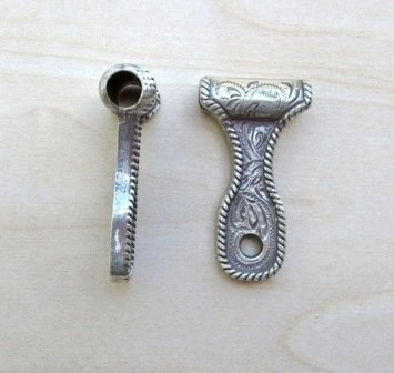 Concho Pendant Adapter ~ TL2104SR ~ Small Closed