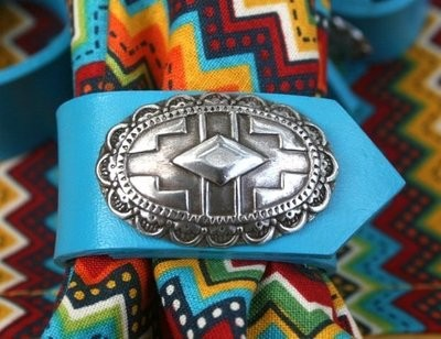 Southwest Napkin Ring ~ Set of 4