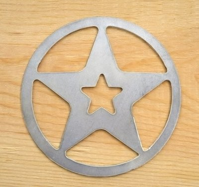 Star in Circle Cutout ~ SCO54-8080