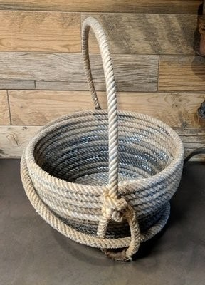 Lariat Basket with Handle ~ LB95H