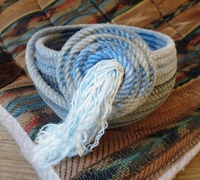 Spiral Lariat Basket ~ SLB955