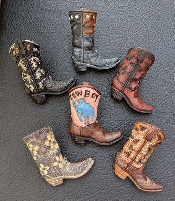 Boot Magnets ~ Set of 6 ~ RB51676