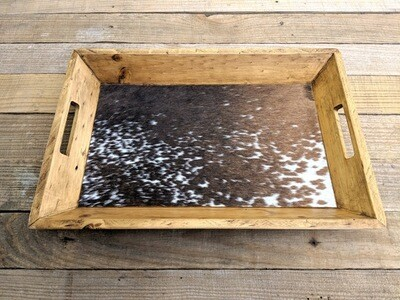 Cowhide Tray ~ WCT2414