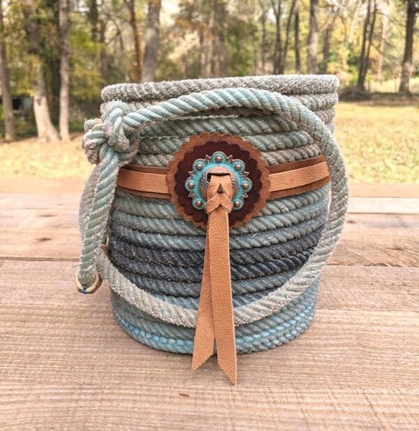 Concho Loop Lariat Basket ~ LBCL657