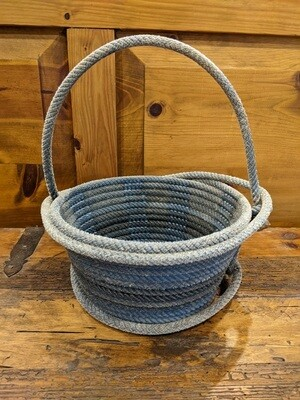 Lariat Basket with Handle ~ LB97512H