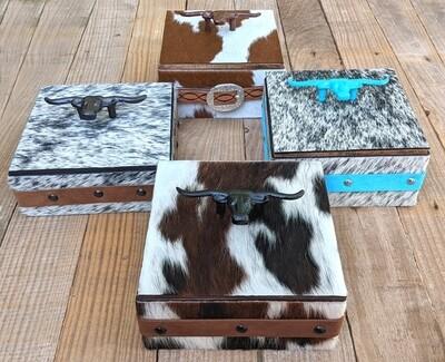 Cowhide Box