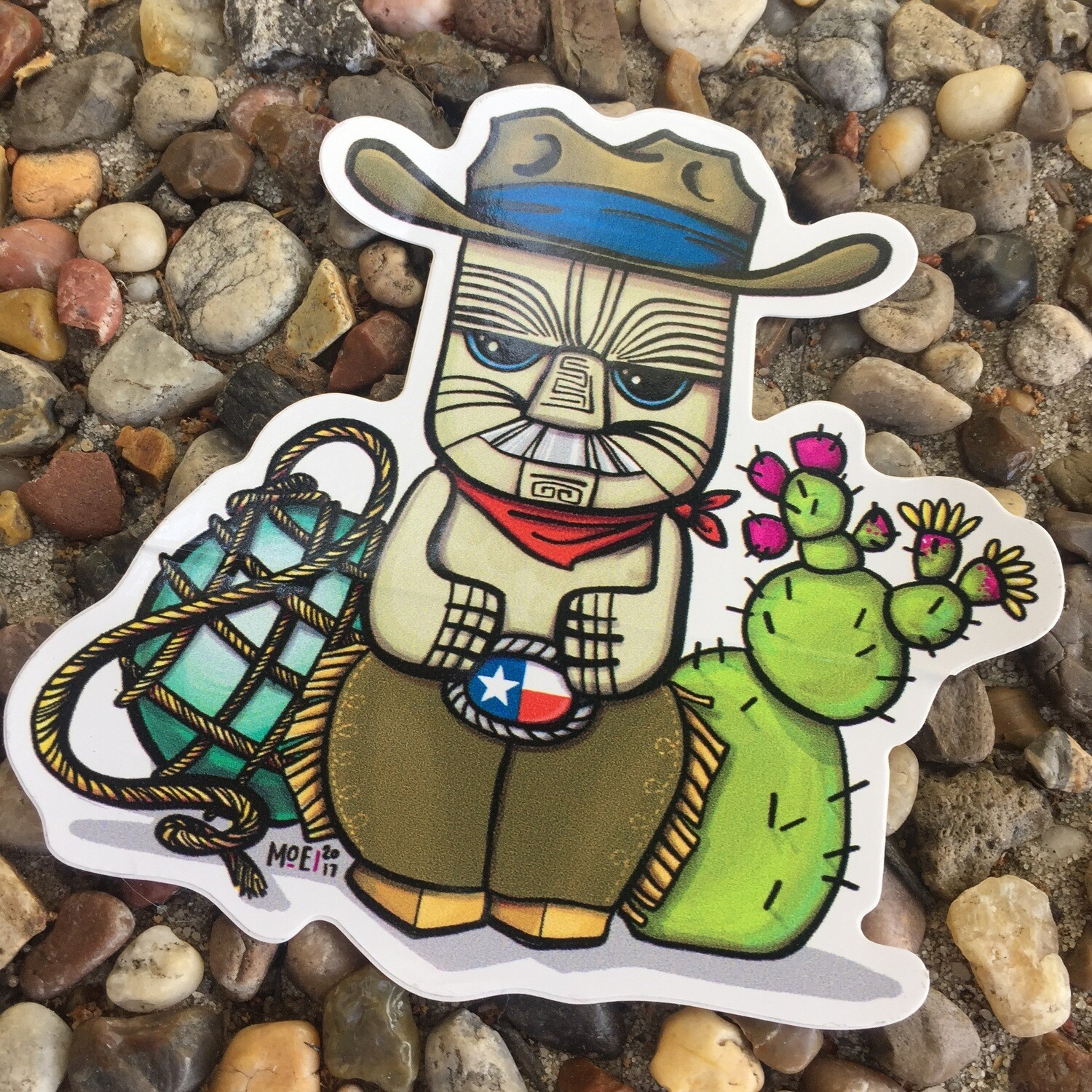 Sticker: Cowboy Peanut