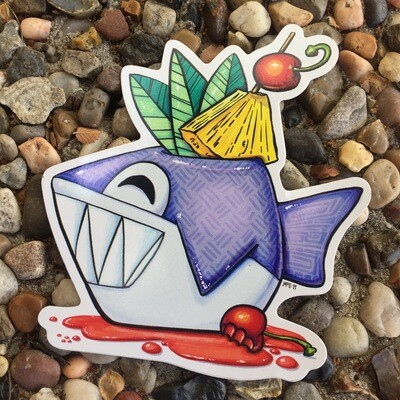 Sticker: Shark Bite