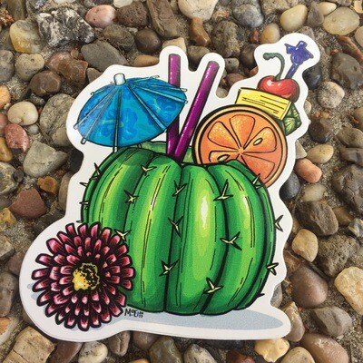Sticker: Cactiki Cocktail