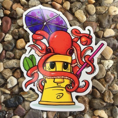 Sticker: Octotiki