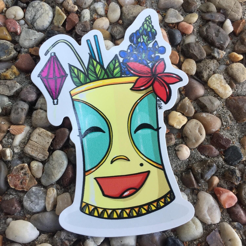 Sticker: Tiki Bonnie