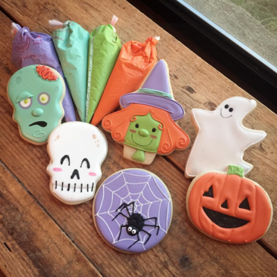 Cookies: Halloween 6-Pack, Vanilla Bean