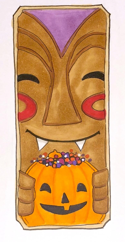 Cookie: Tiki w/ Pumpkin, Hot Buttered Rum