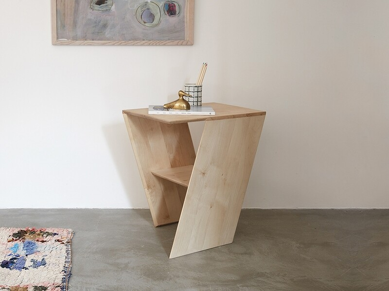 Slant Side Table