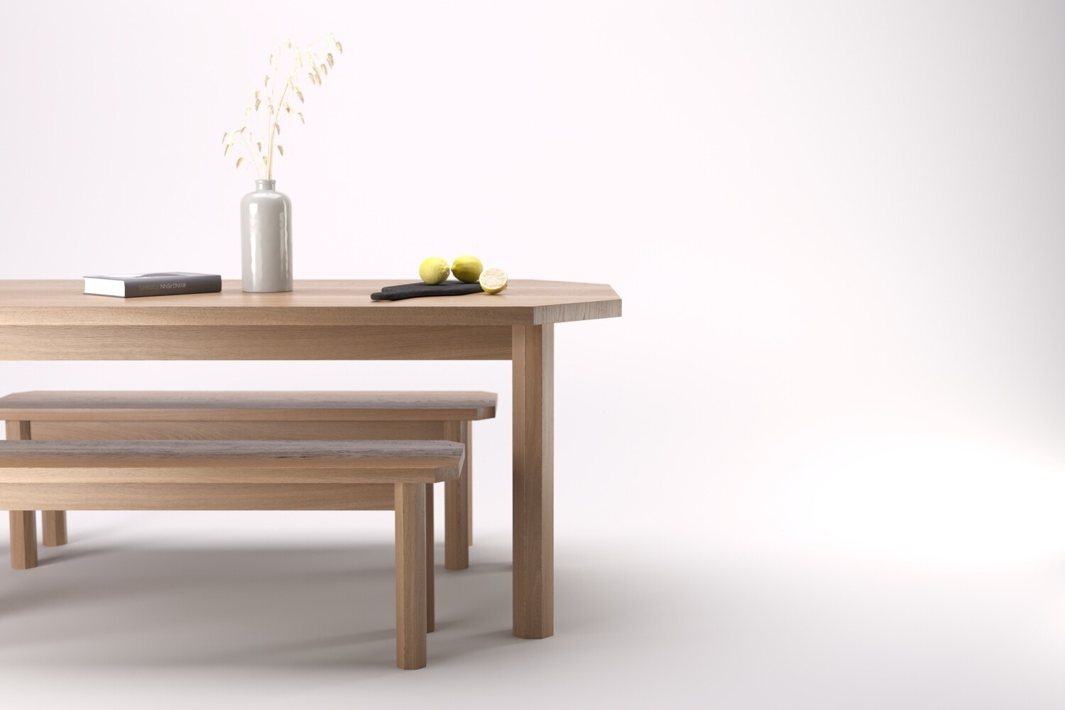 Isaac Table and Benches