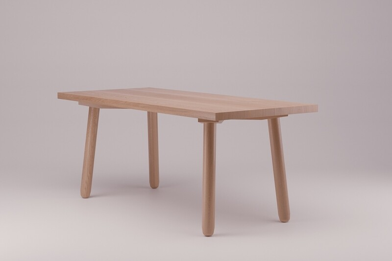 Dowel Dining Table