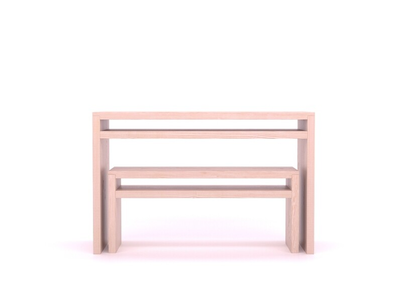Dinesen Desk and Bench