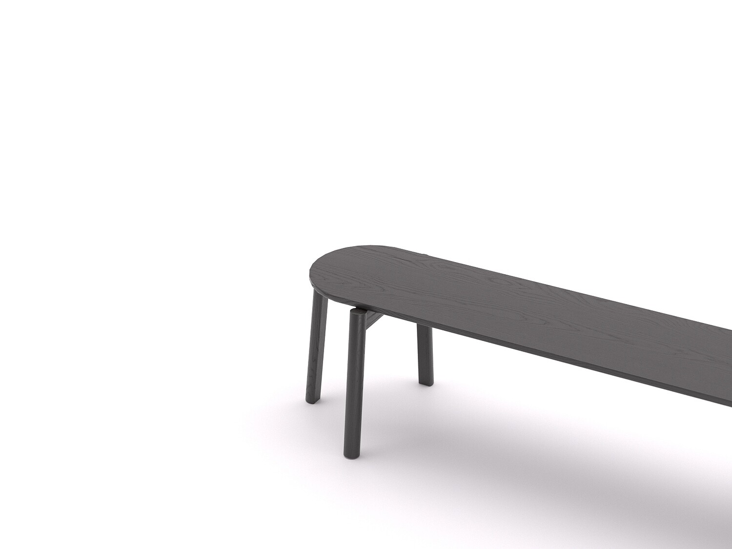 Oval dowel bench