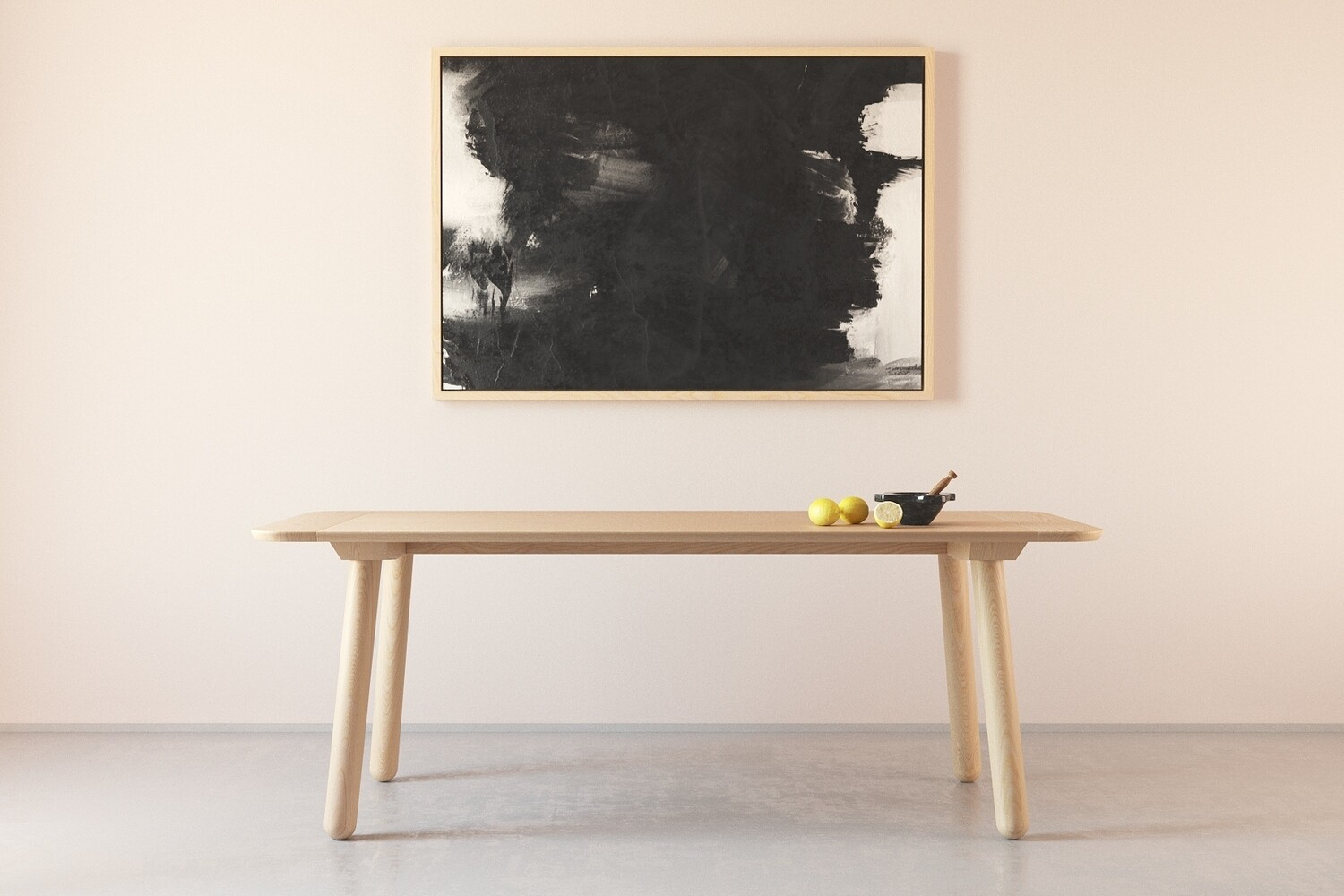 Lathe Dining Table